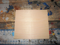 4.5 X 5 inch piece of 1/8 inch plywood