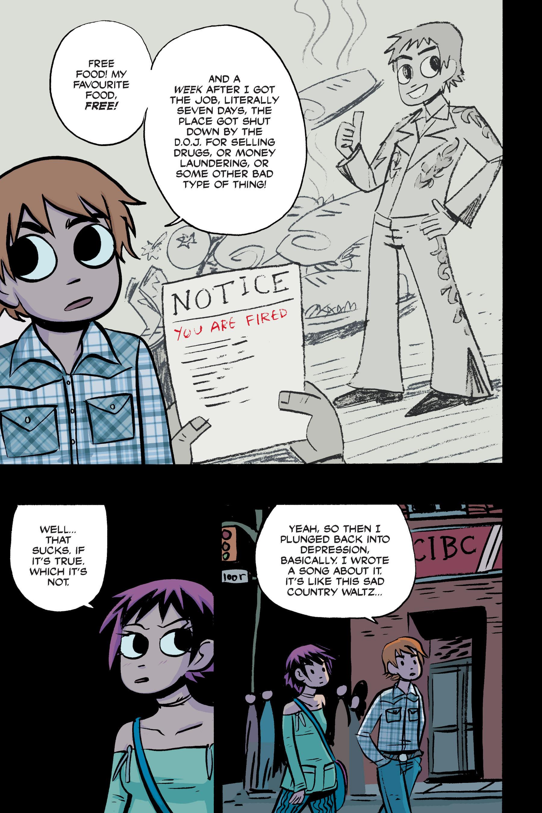 Read online Scott Pilgrim comic -  Issue #2 - 169