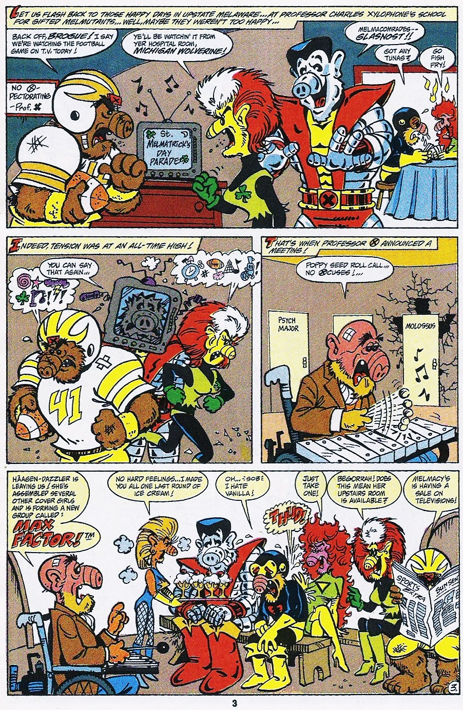 Read online ALF comic -  Issue #44 - 5