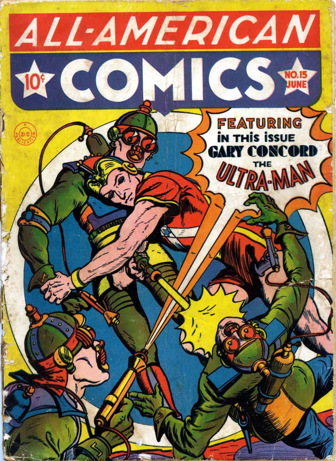 Read online All-American Comics (1939) comic -  Issue #15 - 1