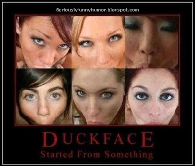 Duckface - it started from something! Sexy meme