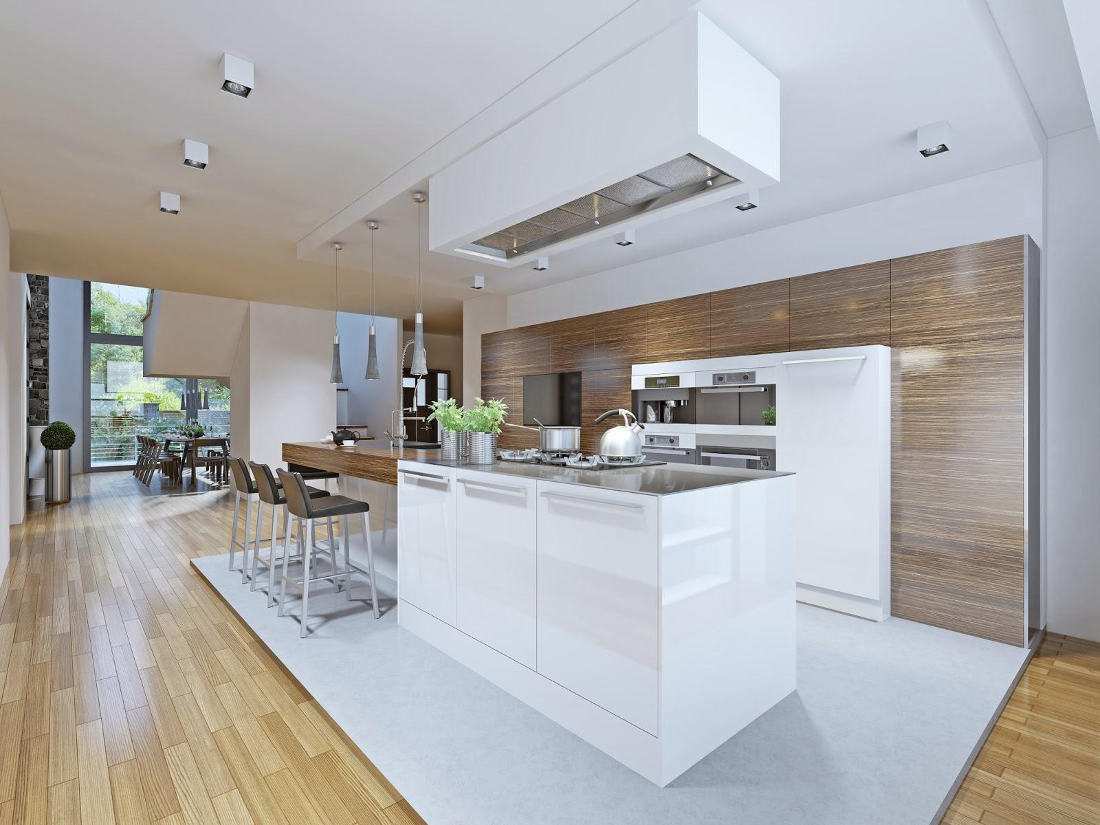 kücheninsel mit herd und spüle - Home Creation