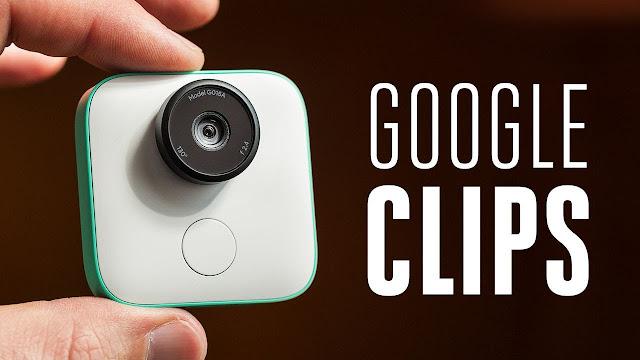 Kamera Mini Google Clips