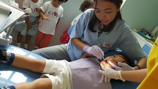 Pemeriksaan gigi pada anak- anak