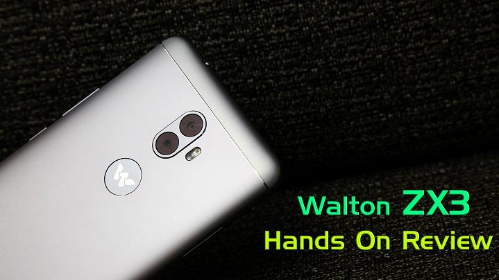 Primo ZX3 review হ্যান্ডস-অন রিভিউঃ ডুয়েল রেয়ার ক্যামেরার Walton Primo ZX3