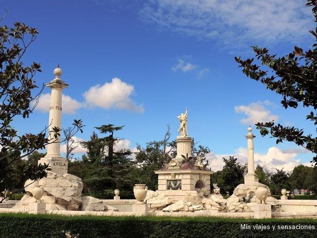 Fuente de Hércules y Anteo, Palacio Real de Aranjuez