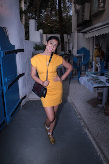 Actress Shriya Pictures in Short Dress at Maria Goretti Book Launch 0028