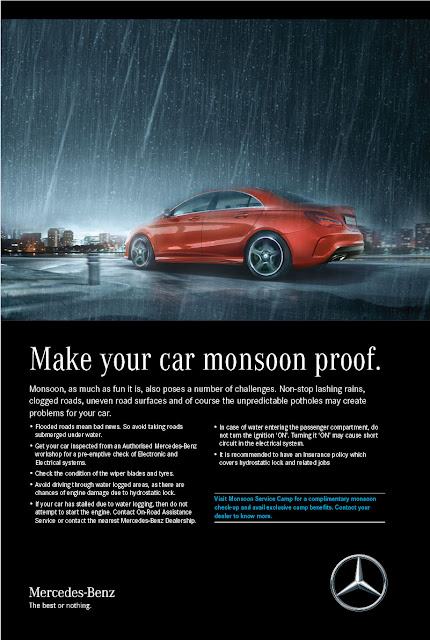 Mercedes-Benz to host a complimentary Pre-monsoon Check-Up Camp in India