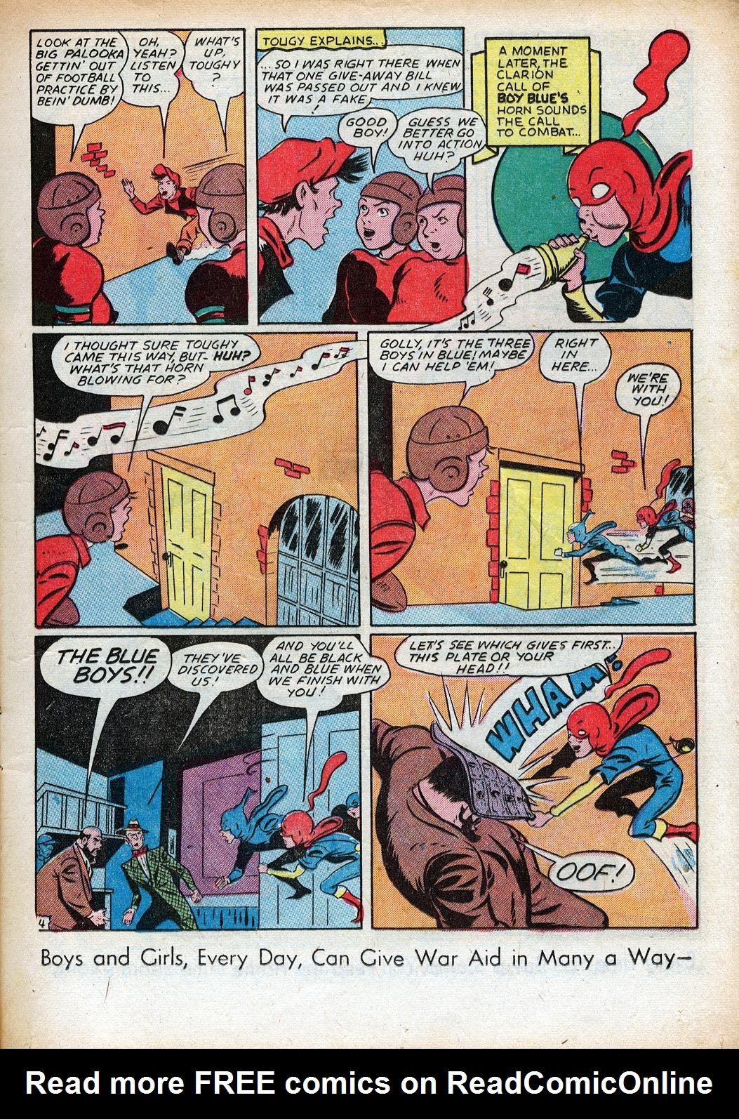 Read online Sensation (Mystery) Comics comic -  Issue #33 - 19
