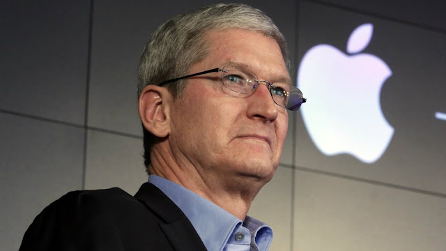 CEO of Apple company which is going in loss