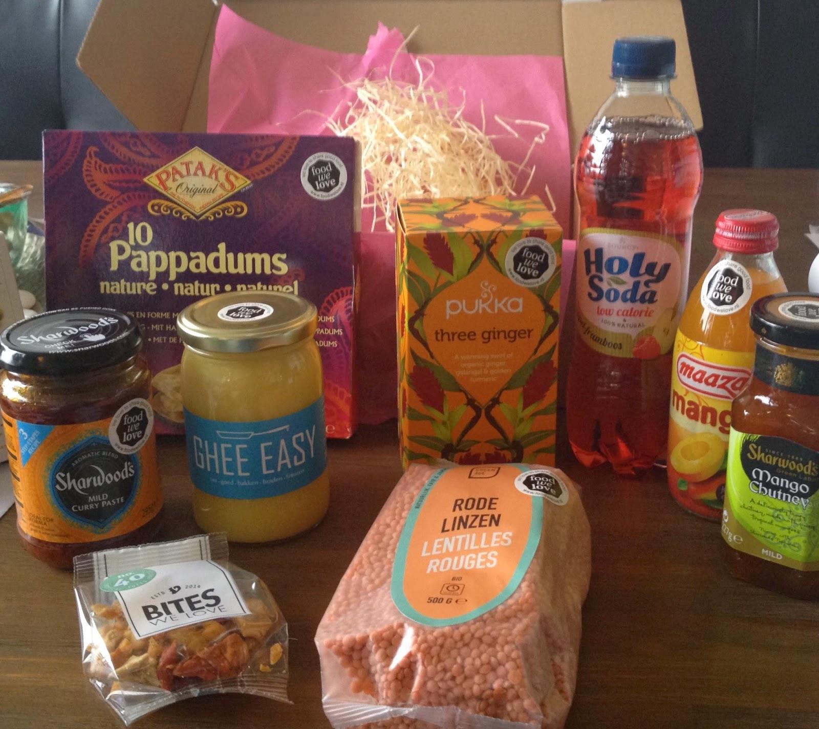 Food we love box - Indian Food Festival