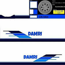 Dowmload Livery Bus Damri