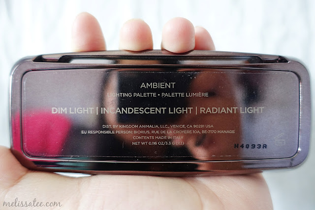 hourglass, hourglass ambient lighting palette, hourglass ambient lighting powder, hourglass ambient lighting palette review, dim light, incandescent light, radiant light