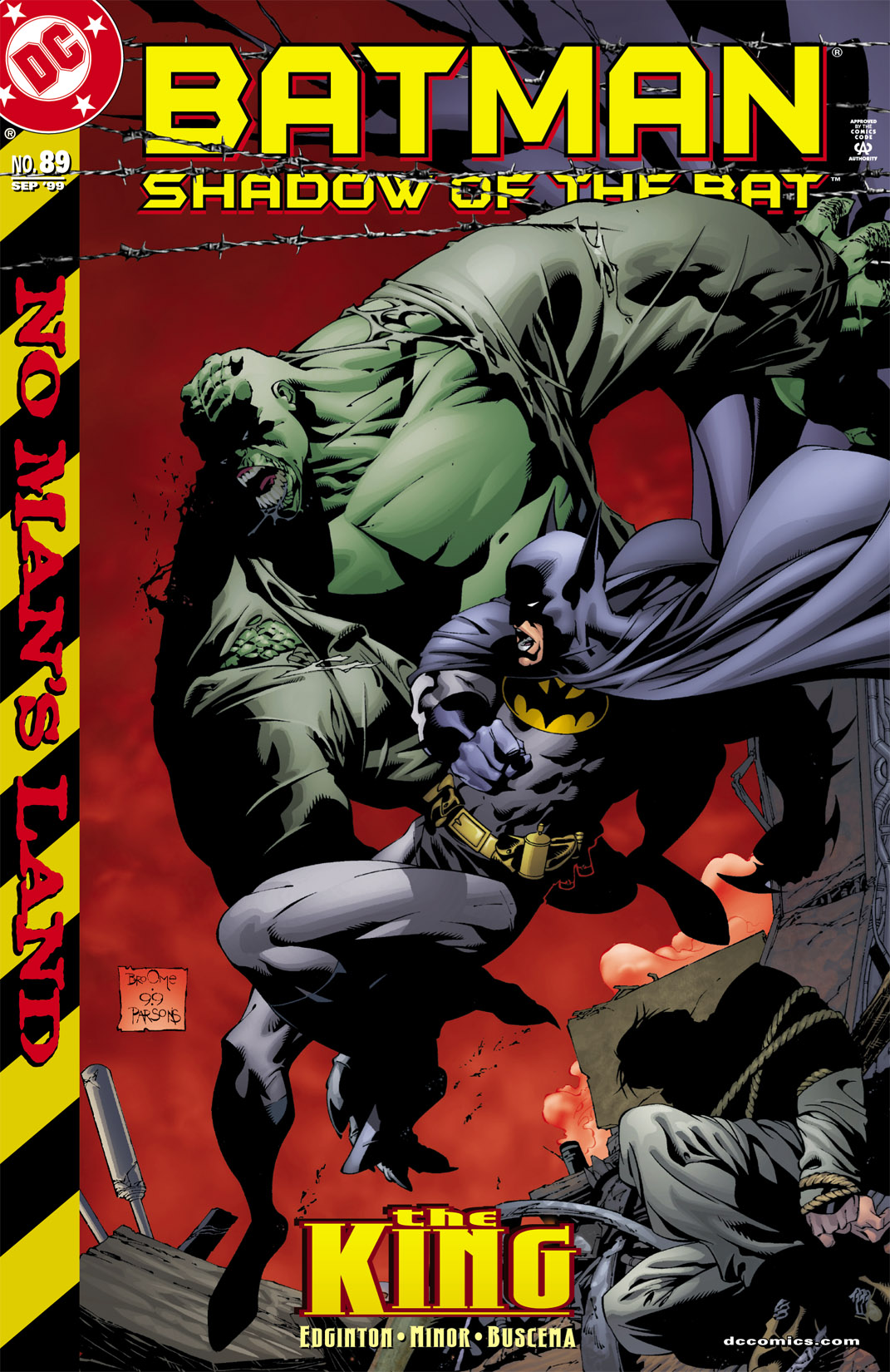Batman: Shadow of the Bat 89 Page 1