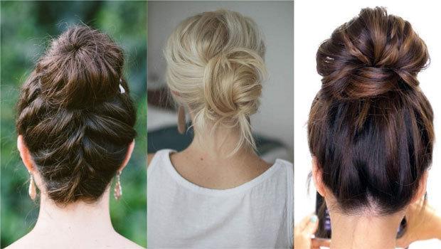 Different Types Of Bun Hairstyles Various Types Of Hair Buns Kizifashion