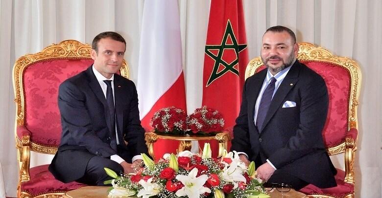 جلالة الملك يعرب لماكرون عن تضامن المغرب مع فرنسا بعد احتراق الكاتدرائية
