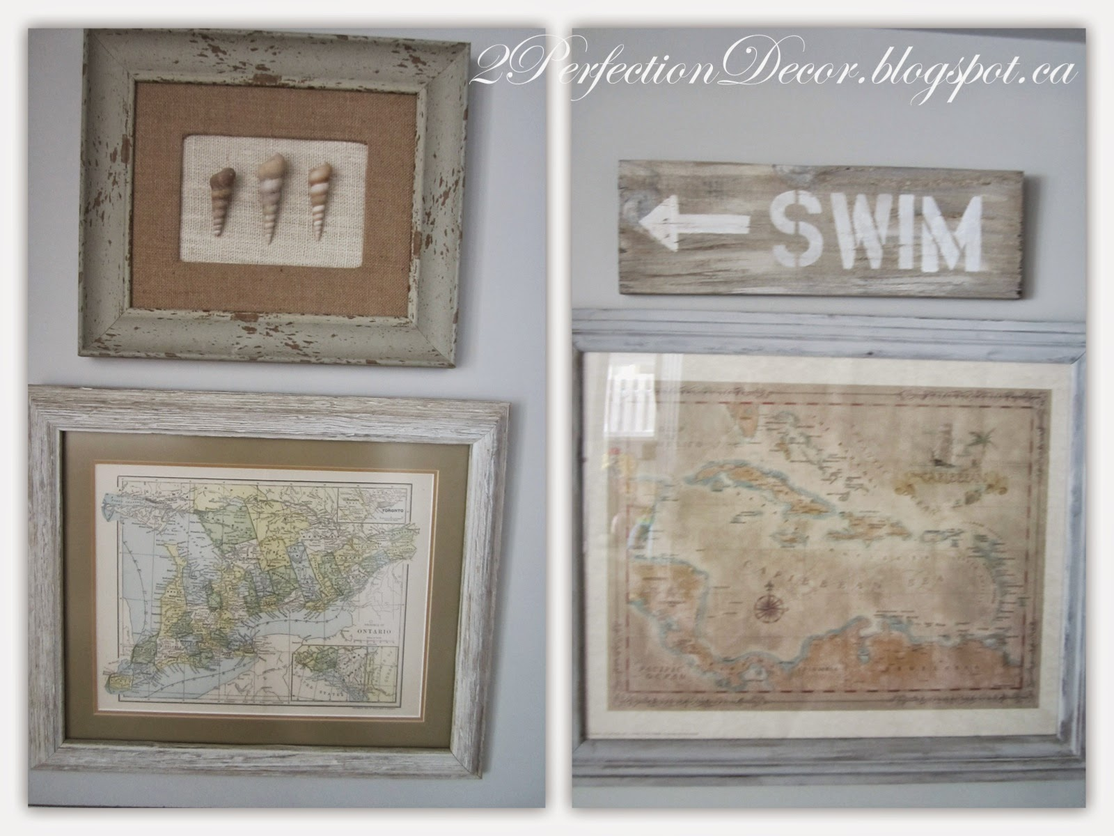 2perfection Decor Basement Coastal Bathroom Reveal: 2Perfection Decor: Basement Hall Reveal