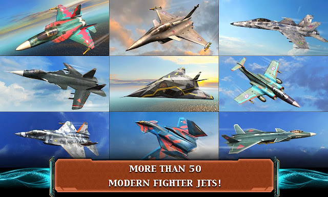 Modern Air Combat: Infinity High Damage & Hit Points