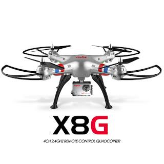 Spesifikasi SYMA X8G Professional Modern Drone - OmahDrone