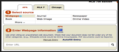 mla in text citation generator website