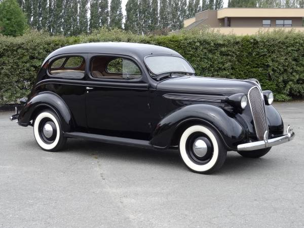 1937 plymouth p4 deluxe 2 door sedan auto restorationice