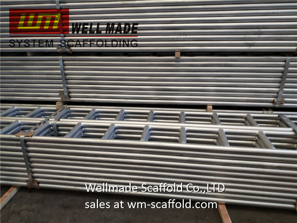 300*6mtr Scaffold Ladder Beams to Saudi Arabia from Wellmade