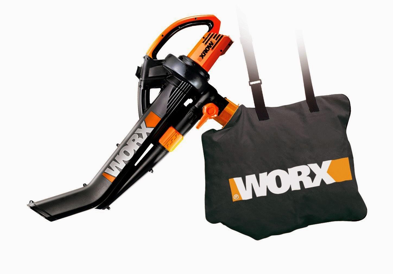 Battery Powered Leaf Vacuum Mulcher