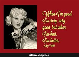 Mae West Quotes in English 2022