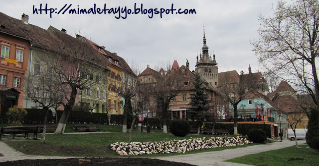 Sighisoara desde la Plaza Hermann Oberth