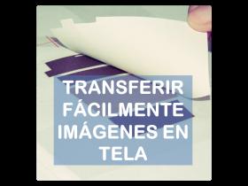 Tutorial transferir facilmente imagenes en tela La vie en DIY