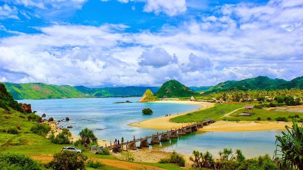 Pantai Seger Kuta Lombok Indonesia