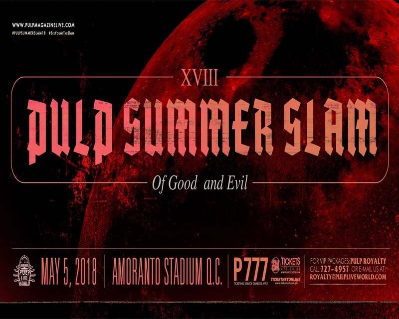 0ea397617d98 Pulp Summer Slam XVIII 2018 Band Lineup