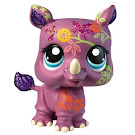 Littlest Pet Shop Shimmer 'n Shine Pets Rhino (#2342) Pet