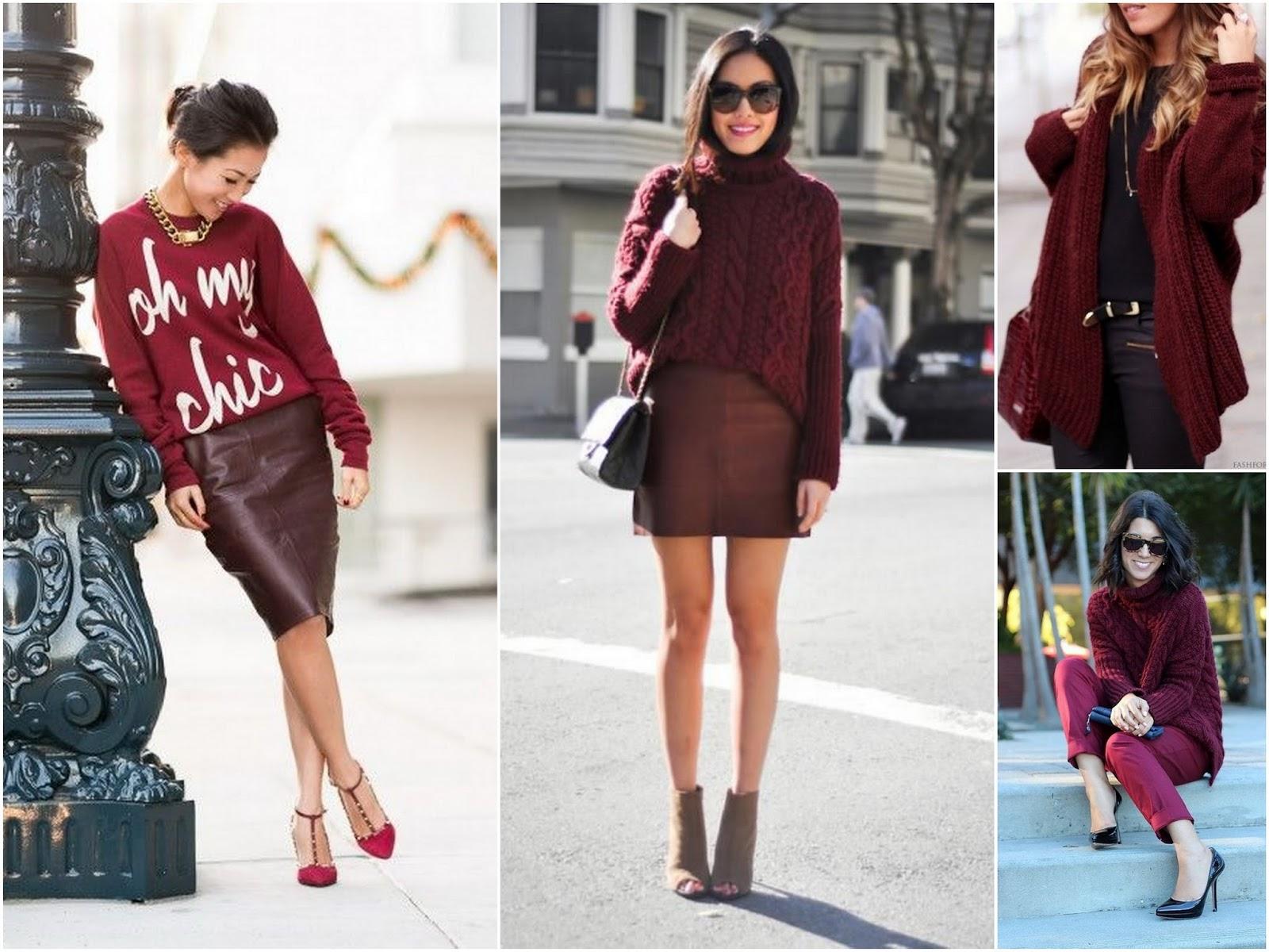 С чем носить джемпер разных цветов
