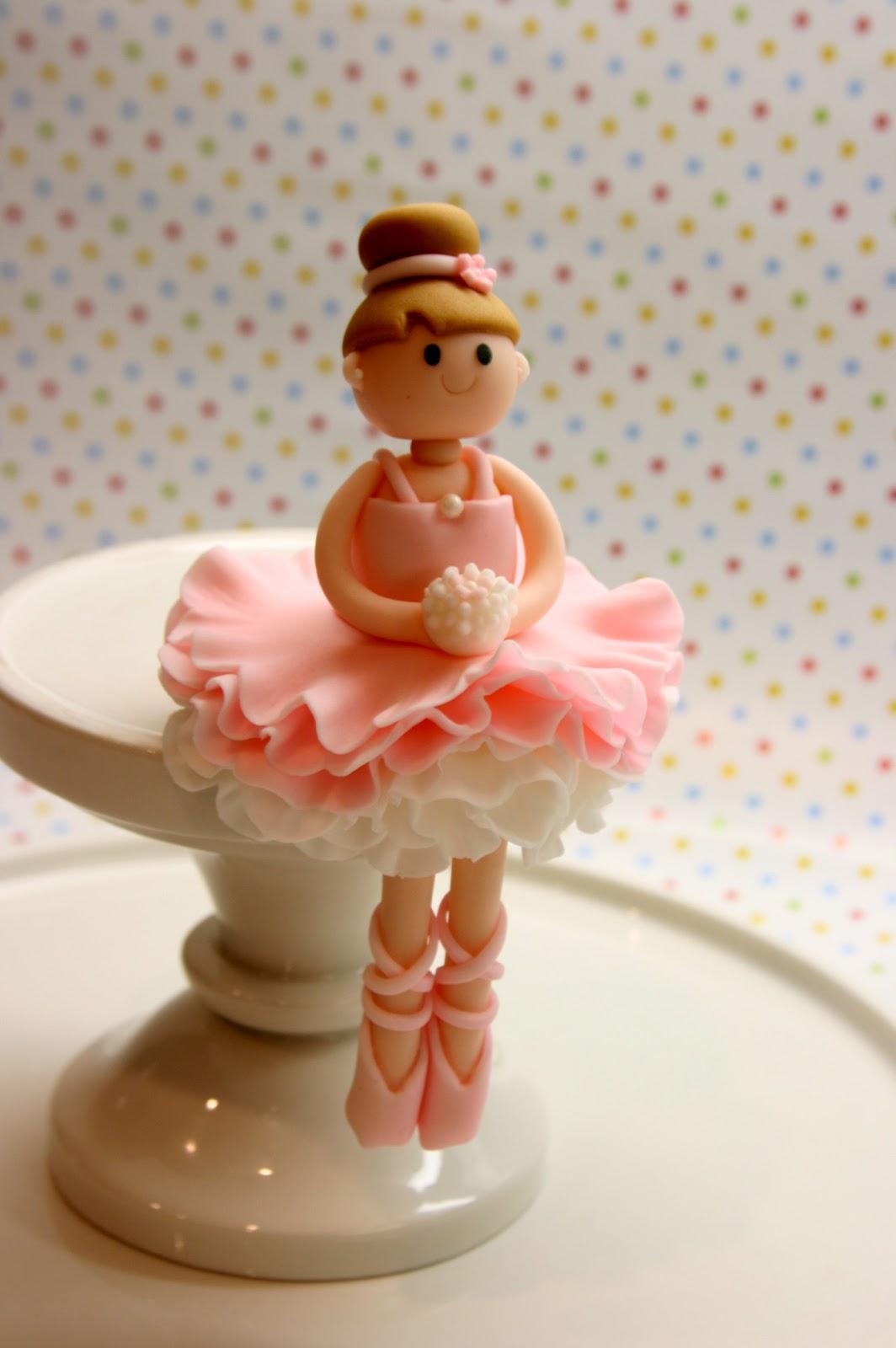 Beautiful Kitchen Ballerina Cake Topper For Allison