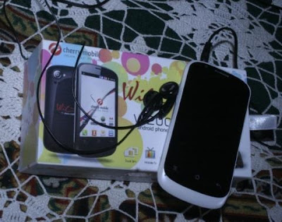 Cherry Mobile W200 Wilfone Actual Unit and Retail Box