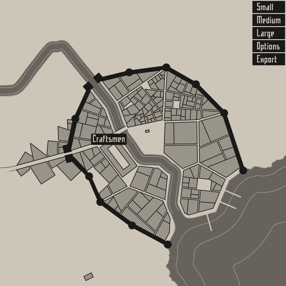creativiti project: TWIC: grammar for dummies, map generator