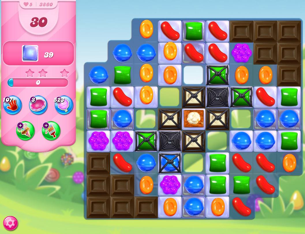 Candy Crush Saga level 3860