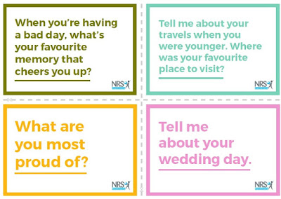 NRS Healthcare Dementia Conversation Cards