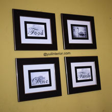 Four Gallery Wall Frames
