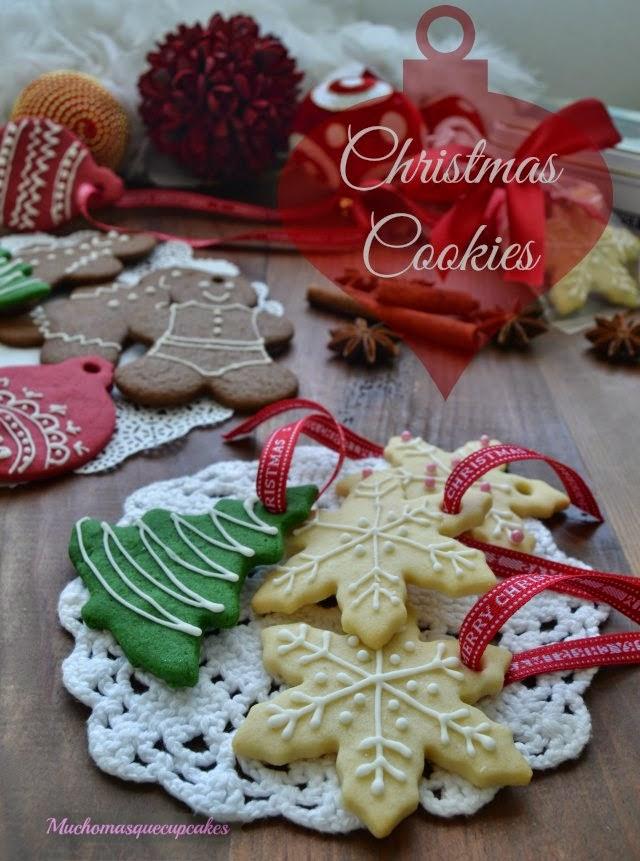 Muchomasquecupcakes Galletas Navideñas Decoradas Sencillas