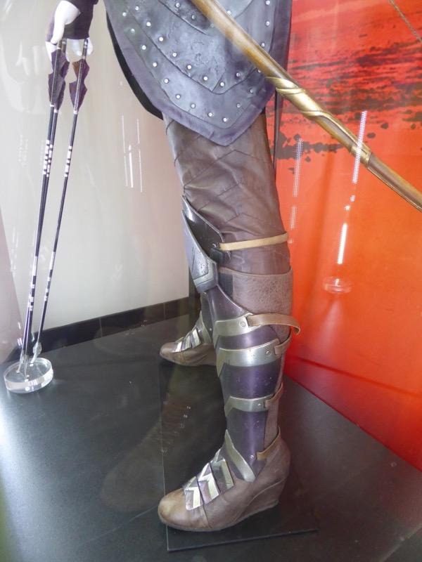 Antiope boot detail Wonder Woman