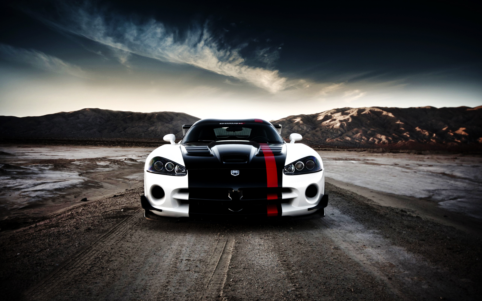 White Dodge Viper Acr HD Wallpapers | Desktop Wallpapers