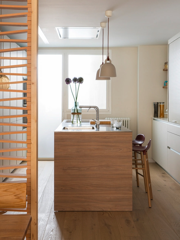 El resultado de la reforma completa de una vivienda barcelonesa chicanddeco