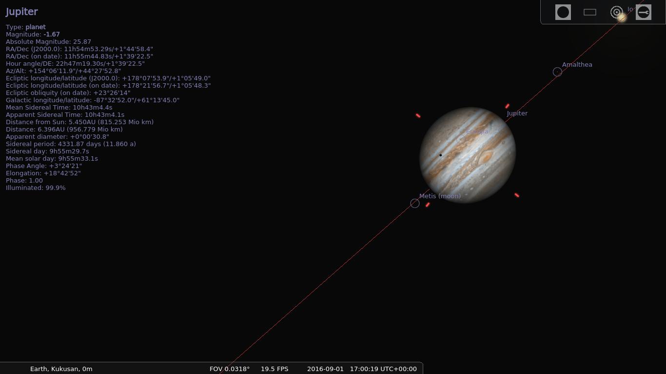 Stellarium - Photo Realistic Sky Generator - Archlinux