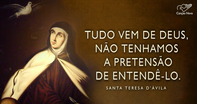 Frases De Santa Tereza Dàvila Conversando Com Frei Rodrigo