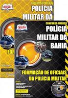 Apostila PM-BA, concurso Polícia Militar da Bahia 2016, CFO e CFSd.