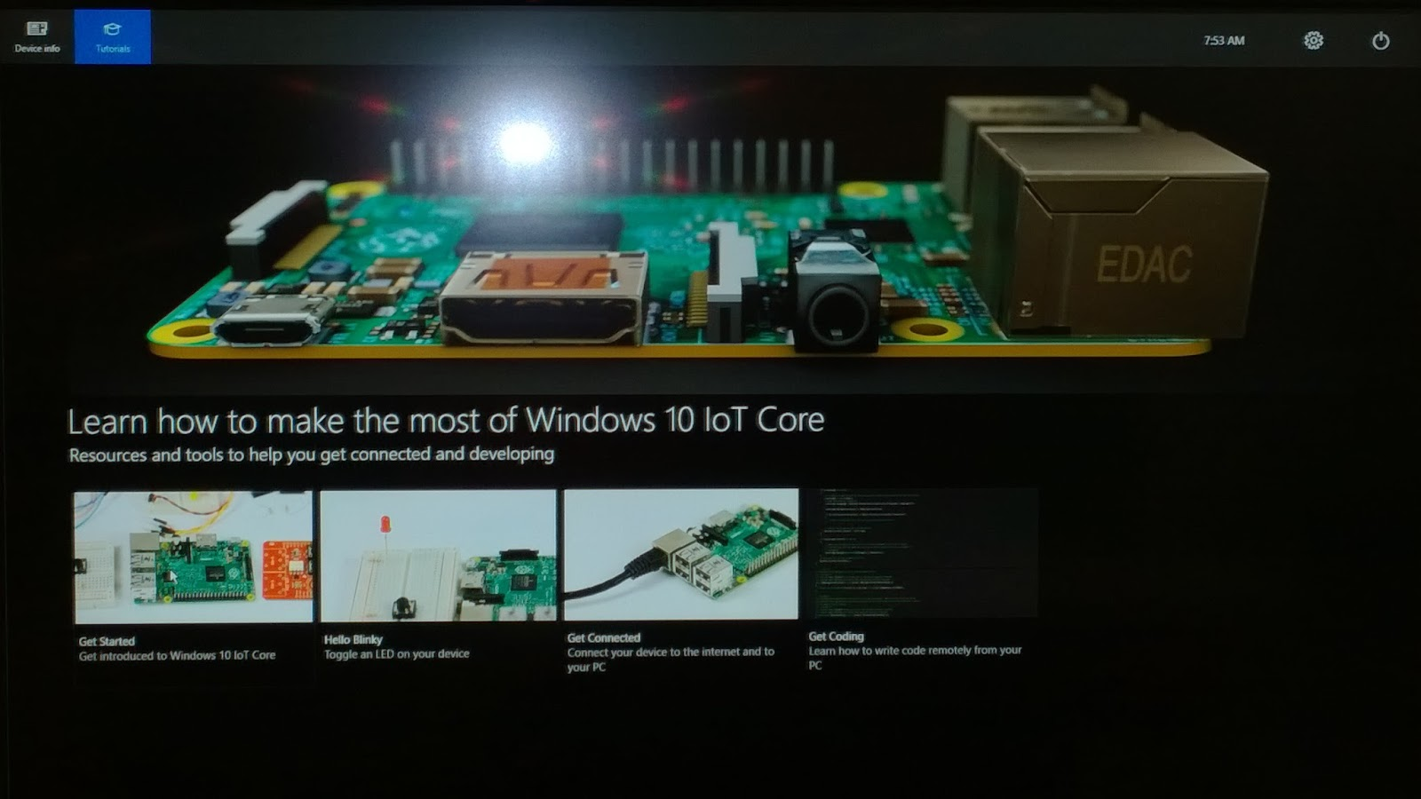 MathiasWestin: Raspberry PI 2 and Windows 10 IoT Core