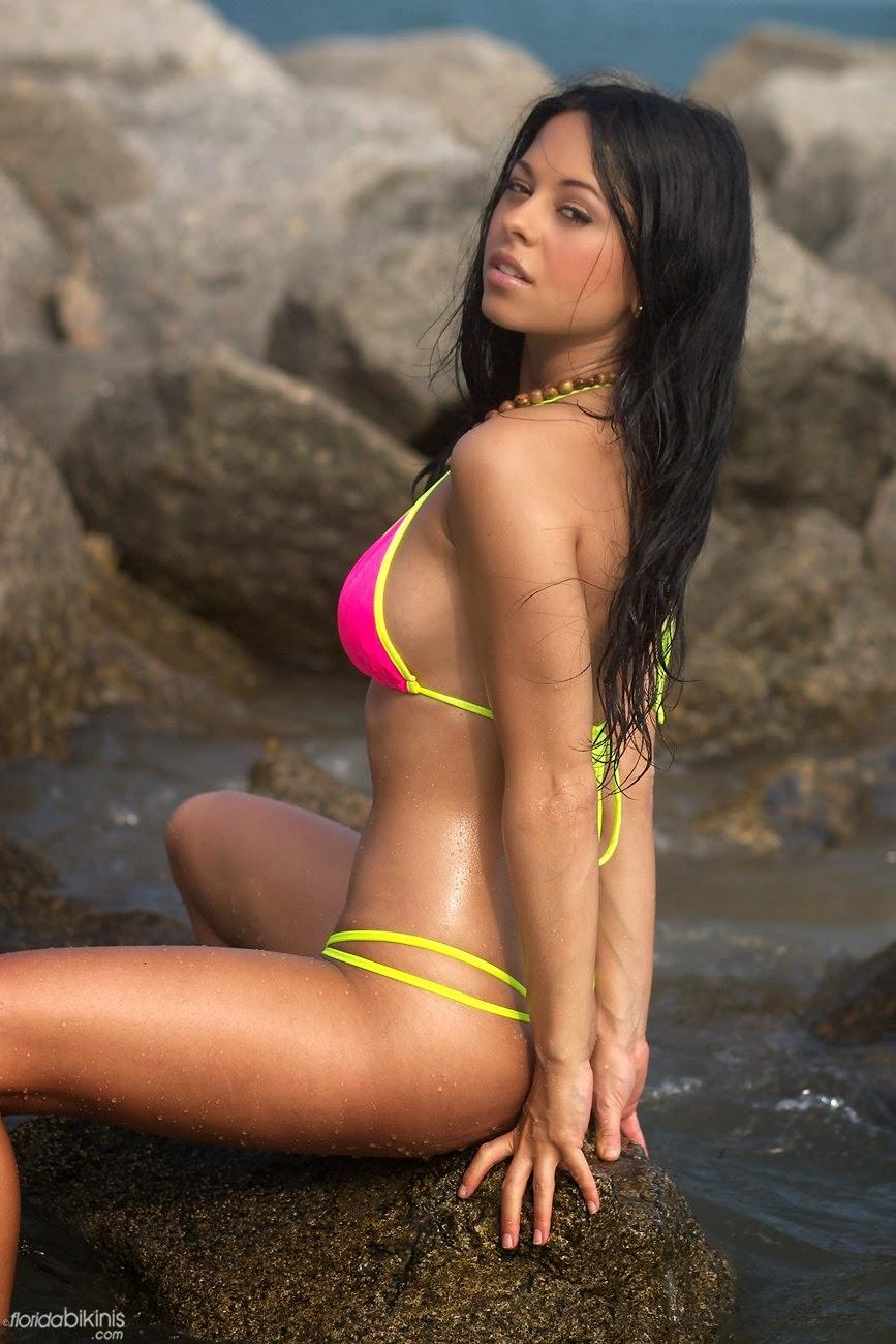 Florida Bikinis Ashley Marks Neon Dream Photo Set