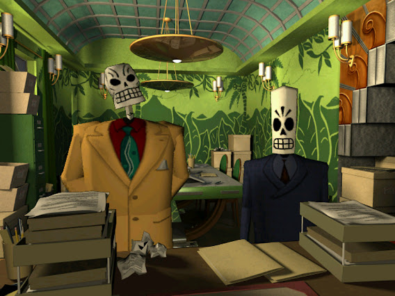 Grim Fandango ScreenShot 02